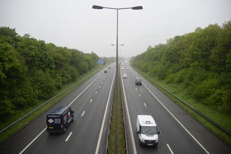 Why was the M65 closed for three hours overnight?