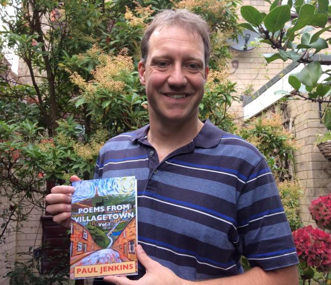 AUTHOR: Paul Jenkins spent a year visiting local landmarks and local events to get inspiration for his book