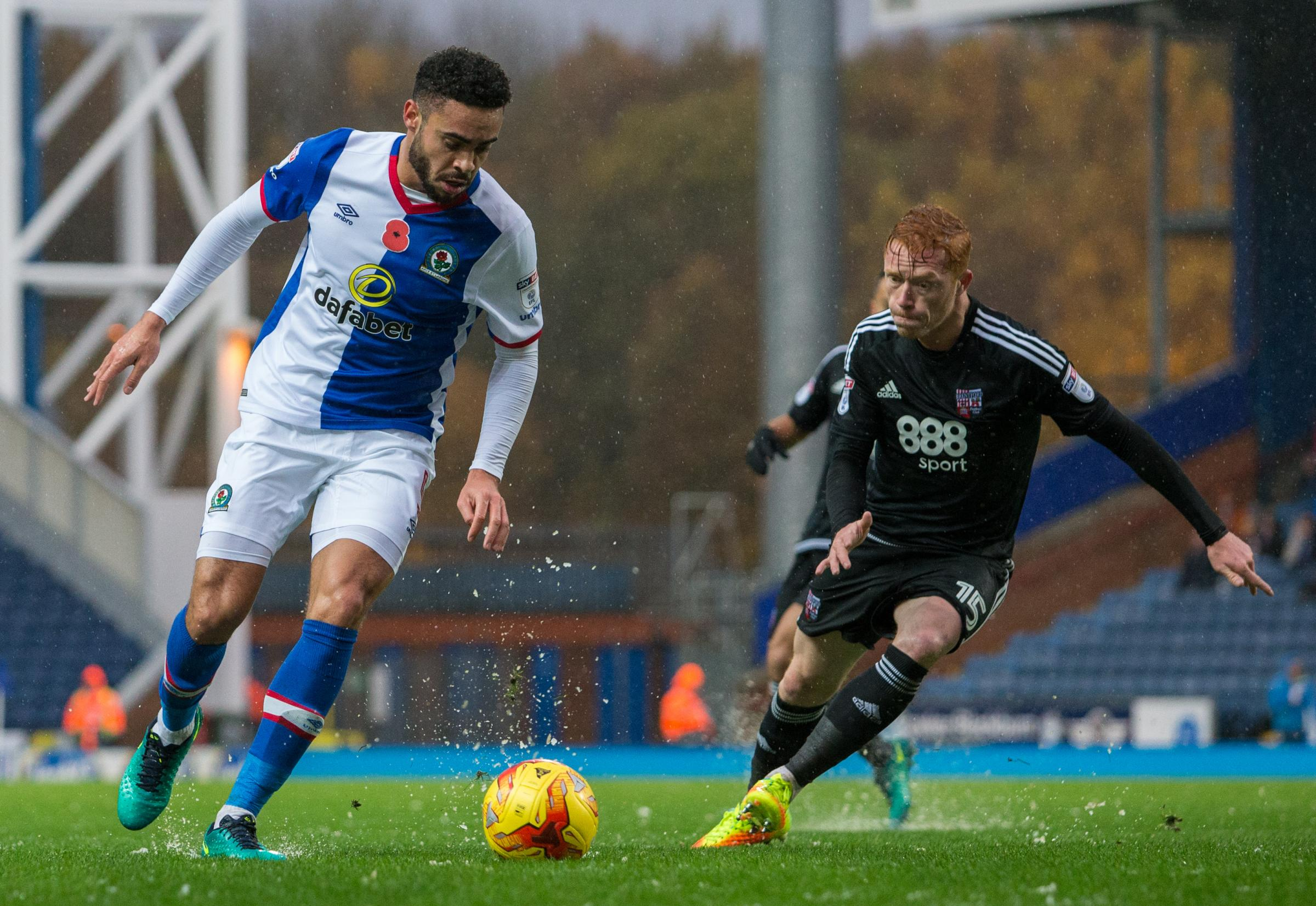 Image result for derrick williams blackburn rovers