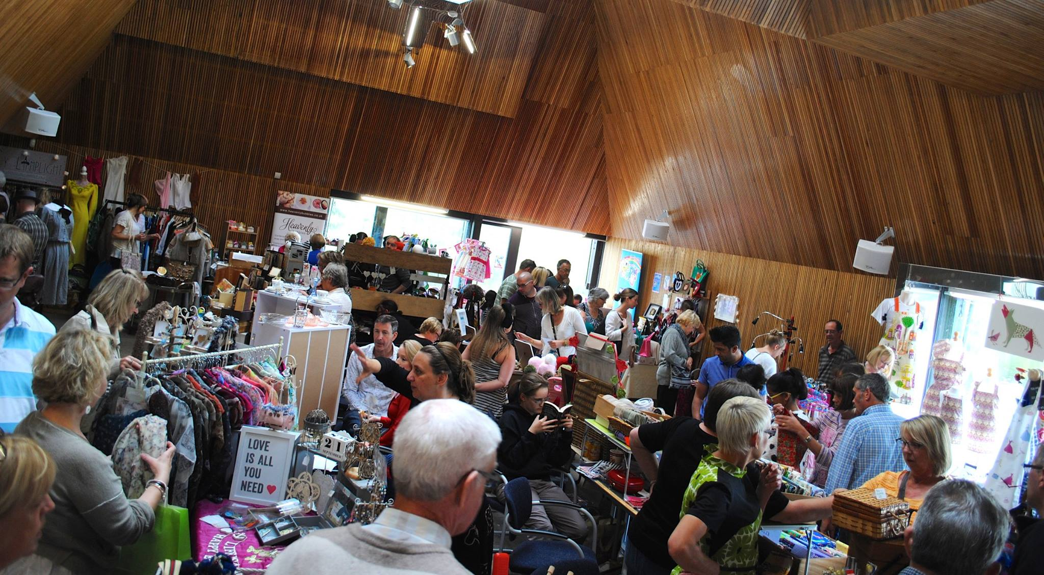 Crafty Vintage at Brockholes Nature Reserve
