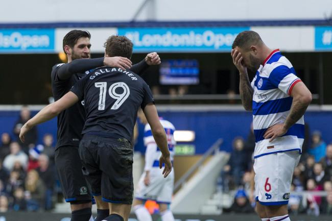 NO-WIN SITUATION: Rovers secured a decent FA Cup third round win at Loftus Road but still some of the players came in for criticism on social media