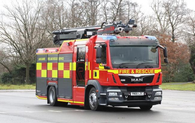 the new fire engine you might spot in blackburn and burnley
