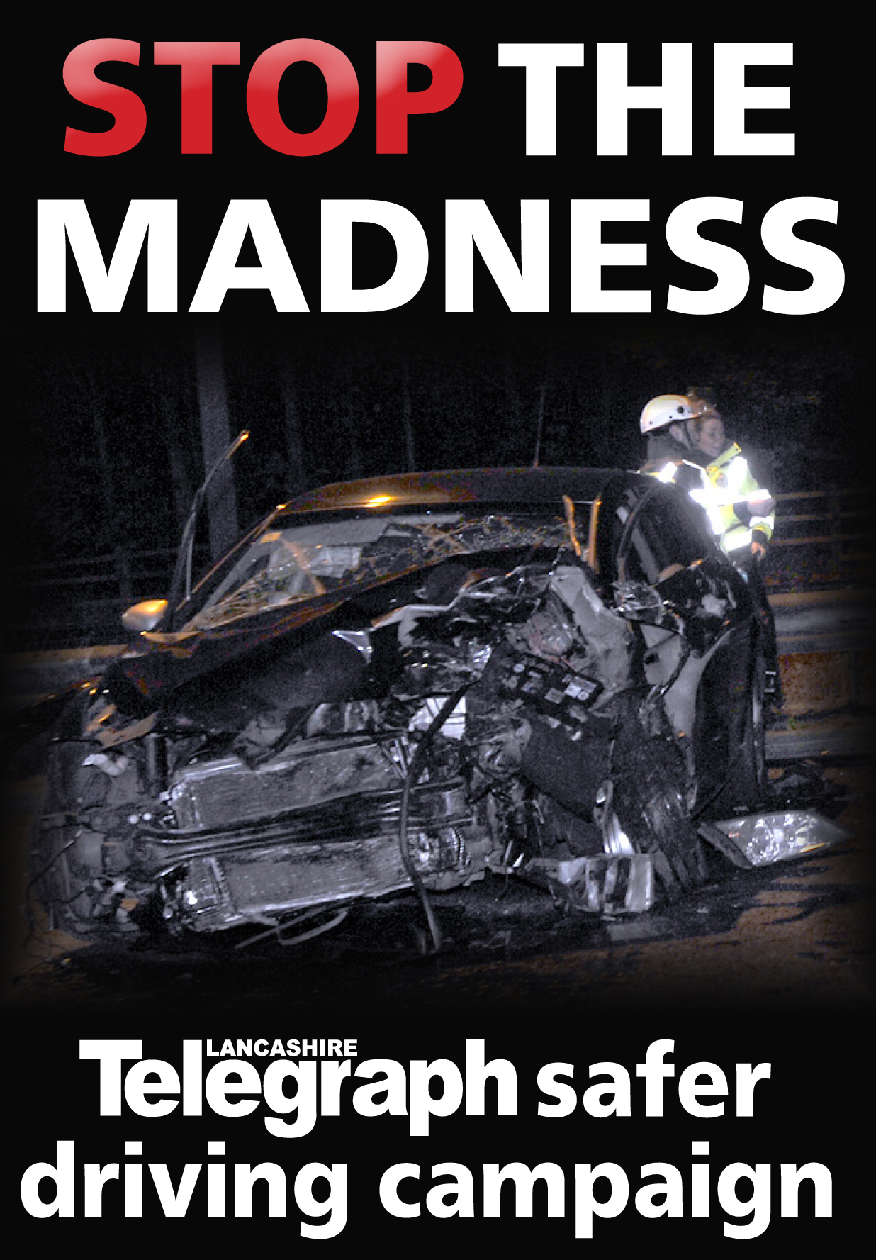 Stop the madness campaign logo.