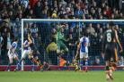 STEELE-Y DETERMINATION: Blackburn Rovers goalkeeper Jason Steele hoping to cause upset against Manchester United