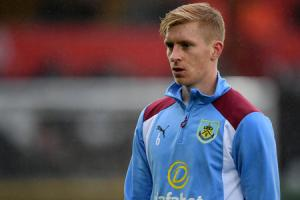 DOUBTFUL: Ben Mee is battling a shin injury to be fit for the Crystal Palace trip