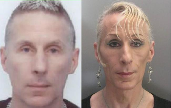 WANTED: Lisa Hauxwell, 48, also known as Craig John Hauxwell, has been on the run after being sentenced to 14 years in prison last year