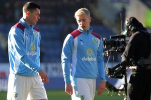 OUTSTANDING: Michael Keane and Ben Mee have been ever-present for Burnley this season