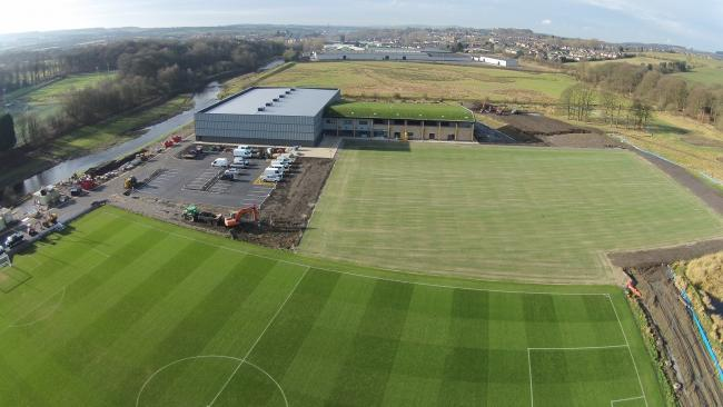 FINISHING TOUCHES: Burnley are set to move into the Barnfield Training Centre this week