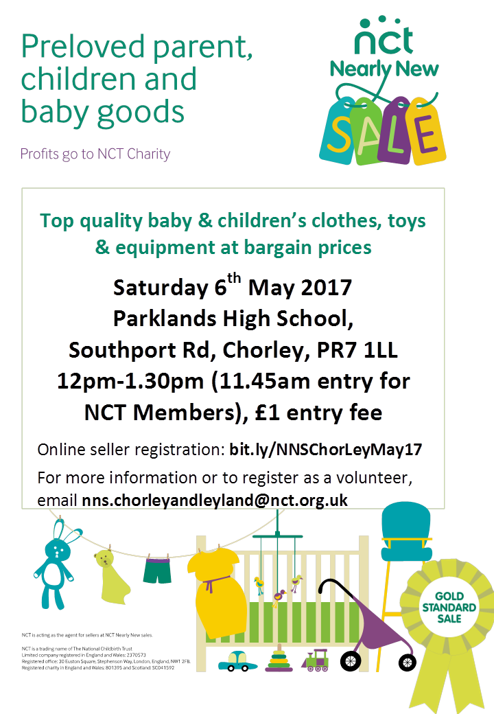 Chorley & Leyland NCT Nearly New Sale