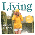 Lancashire Telegraph: Living Spring 2017 Cover