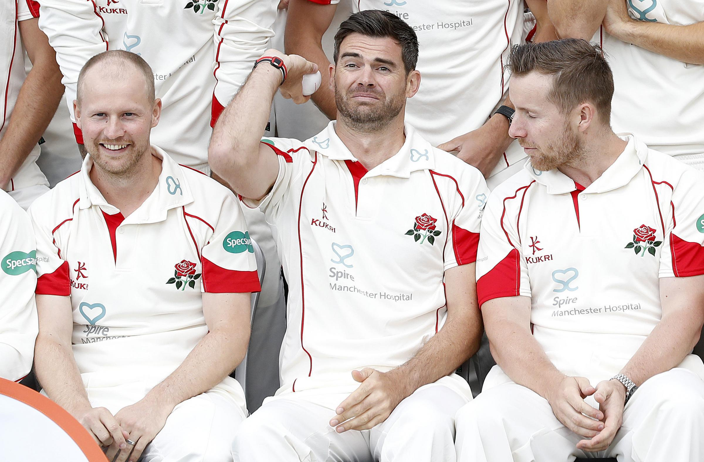 CAPTAINCY: James Anderson is unsure why there aren't more bowling captains