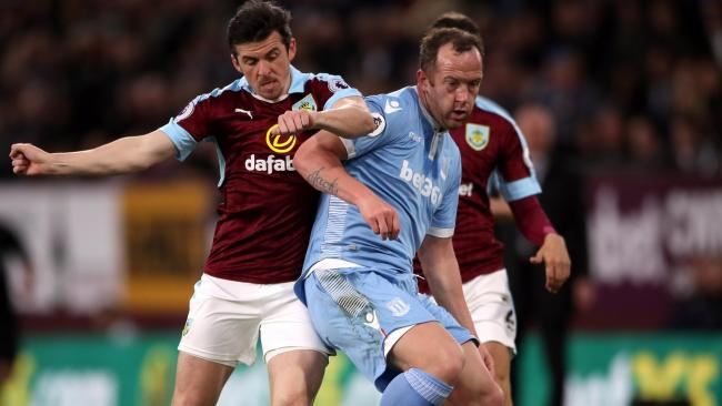 Burnley end eight-match winless streak with victory over Stoke