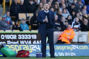 CONTROL WHAT WE CAN: Tony Mowbray wants his Rovers side to achieve six points from their remaining two games in their battle to beat the drop