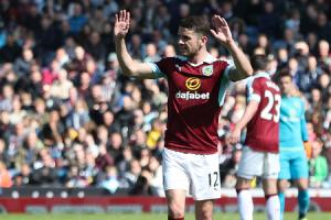 MORE TO COME: Robbie Brady believes Burnley have plenty left to give in the final weeks of the season