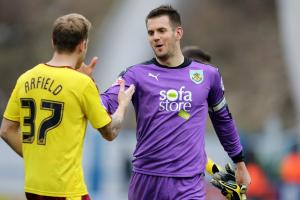 IMPROVEMENT: Scott Arfield and Tom Heaton both signed for Burnley in 2013 and have risen to Premier League regulars in that time