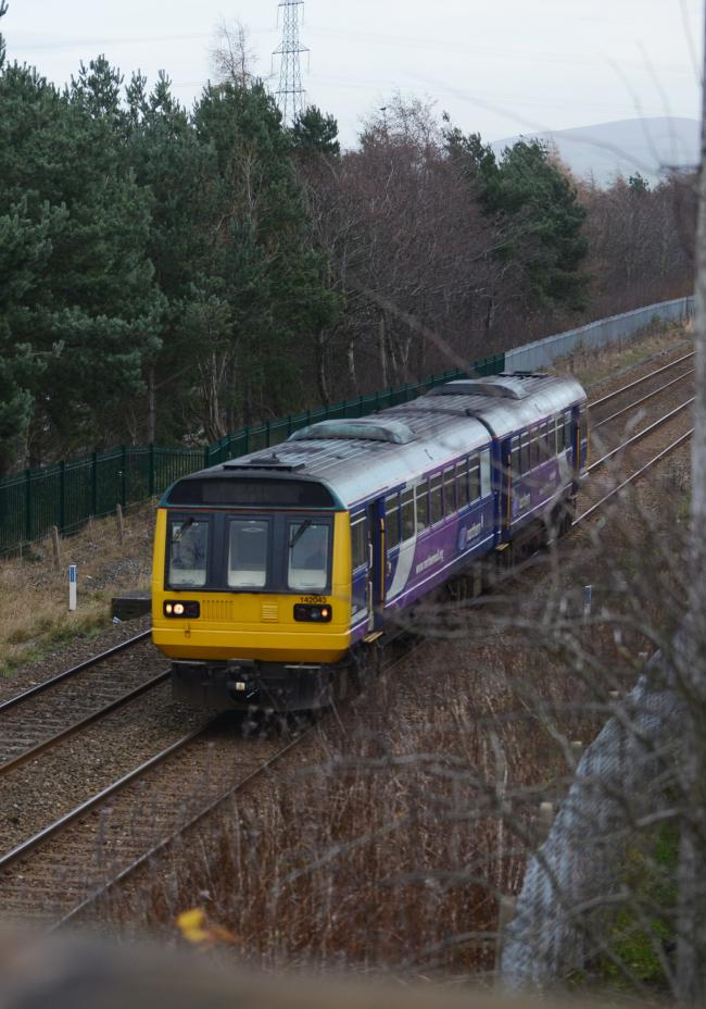 Children have been found playing on the railway line