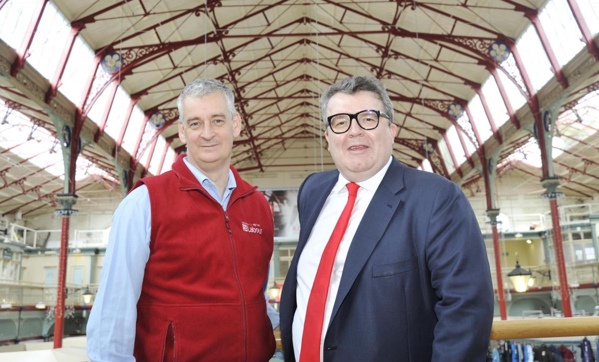 Deputy Labour leader Tom Watson visits Accrington with Hyndburn MP Graham  Jones | Lancashire Telegraph