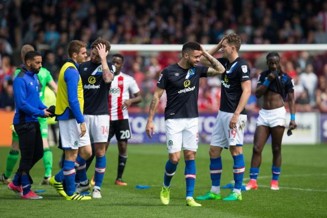 Rovers were relegated on the final day of the 2016/17 season at Brentford