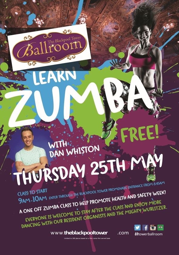 Zumba with Dancing on Ice star