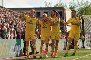 MEMORABLE MOMENT: Burnley's away win at Crystal Palace was Mike Garlick's highlight of the season