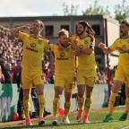 Lancashire Telegraph: MEMORABLE MOMENT: Burnley's away win at Crystal Palace was Mike Garlick's highlight of the season