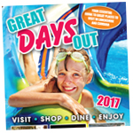 Lancashire Telegraph: Great Days Out 2017 Cover