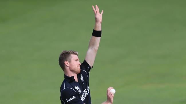 Kent sign Jimmy Neesham for this summer's NatWest T20 Blast