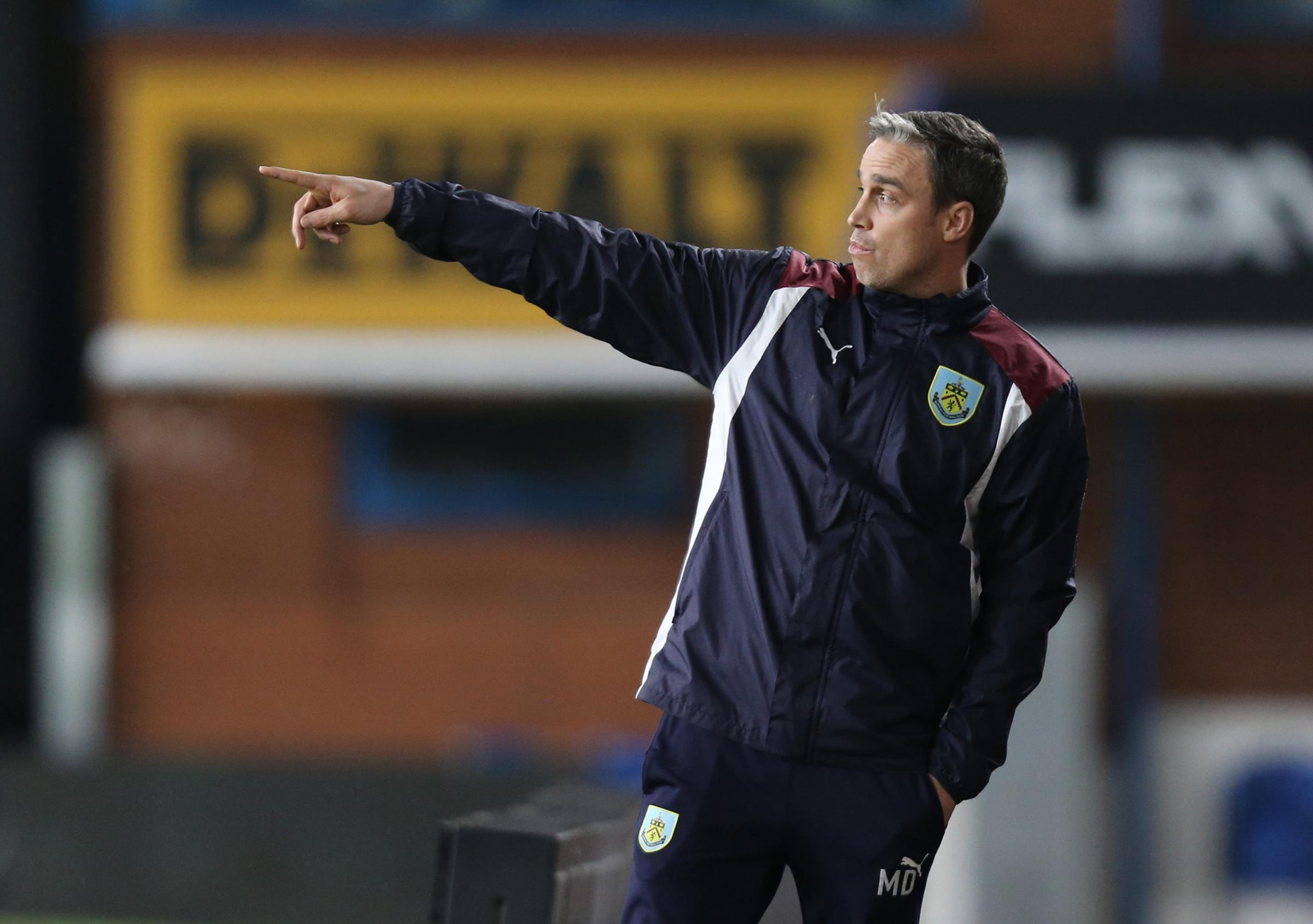 Michael Duff takes his Under-23 side to Turf Moor for the first time this season today