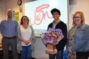 tutor Andrew Ashworth, Hannah Stobbs from Strawberry J&M, Tyron Tuzara and Rebecca Ashworth, also from Strawberry J&M.