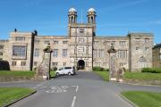 An imposing Stonyhurst College stands proud, seen by Stephen Whitehead from Blackburn.