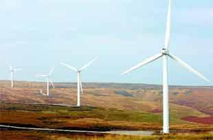 Controversial Edenfield windfarm opens