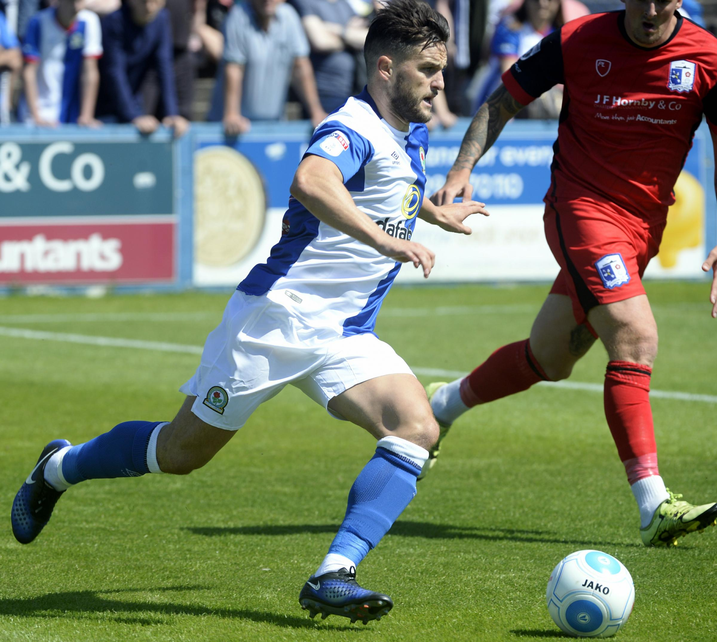 DOUBT: Craig Conway could miss Rovers' opening league game of the season at Southend United through injury