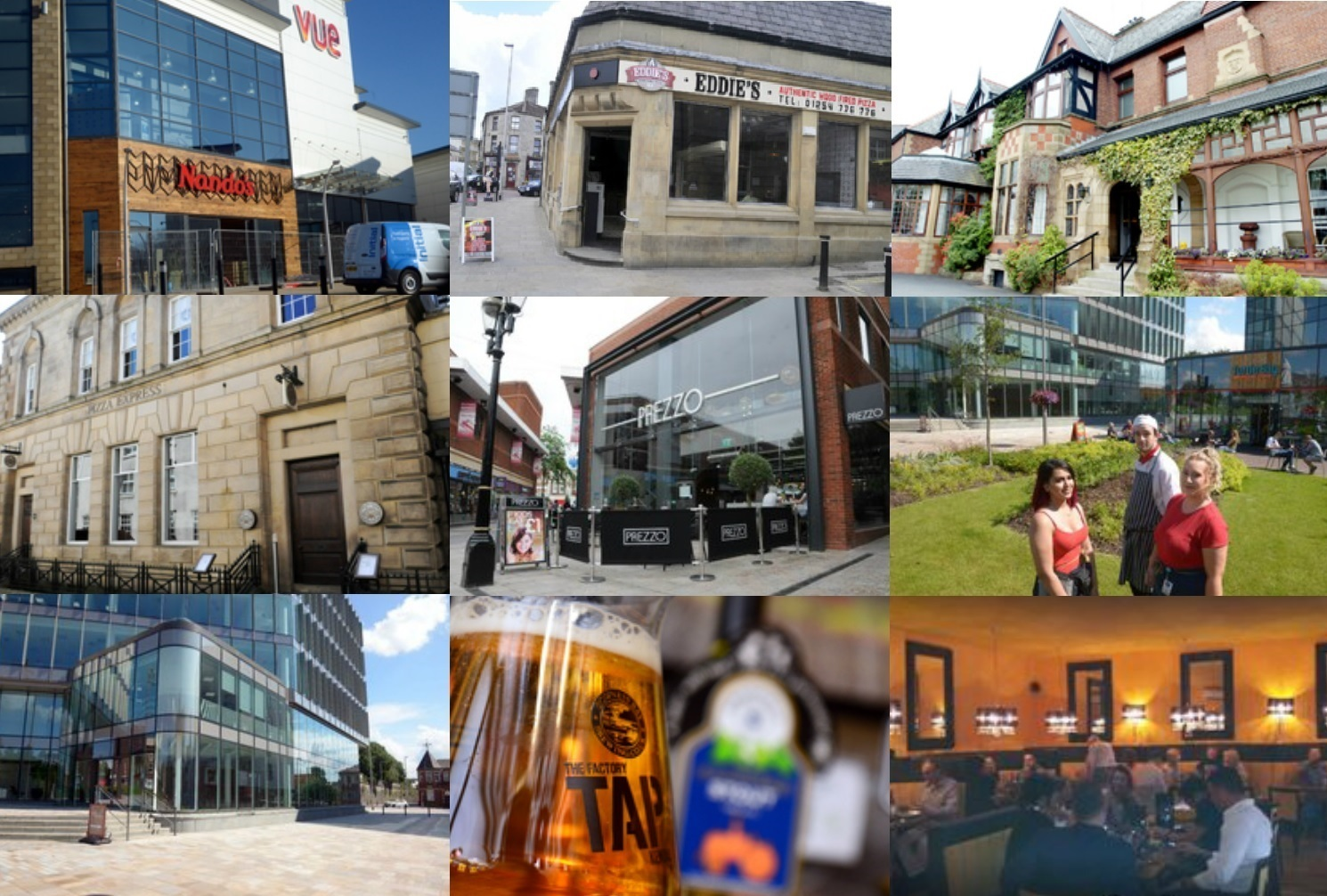 Which restaurants would you like to see open in Blackburn?