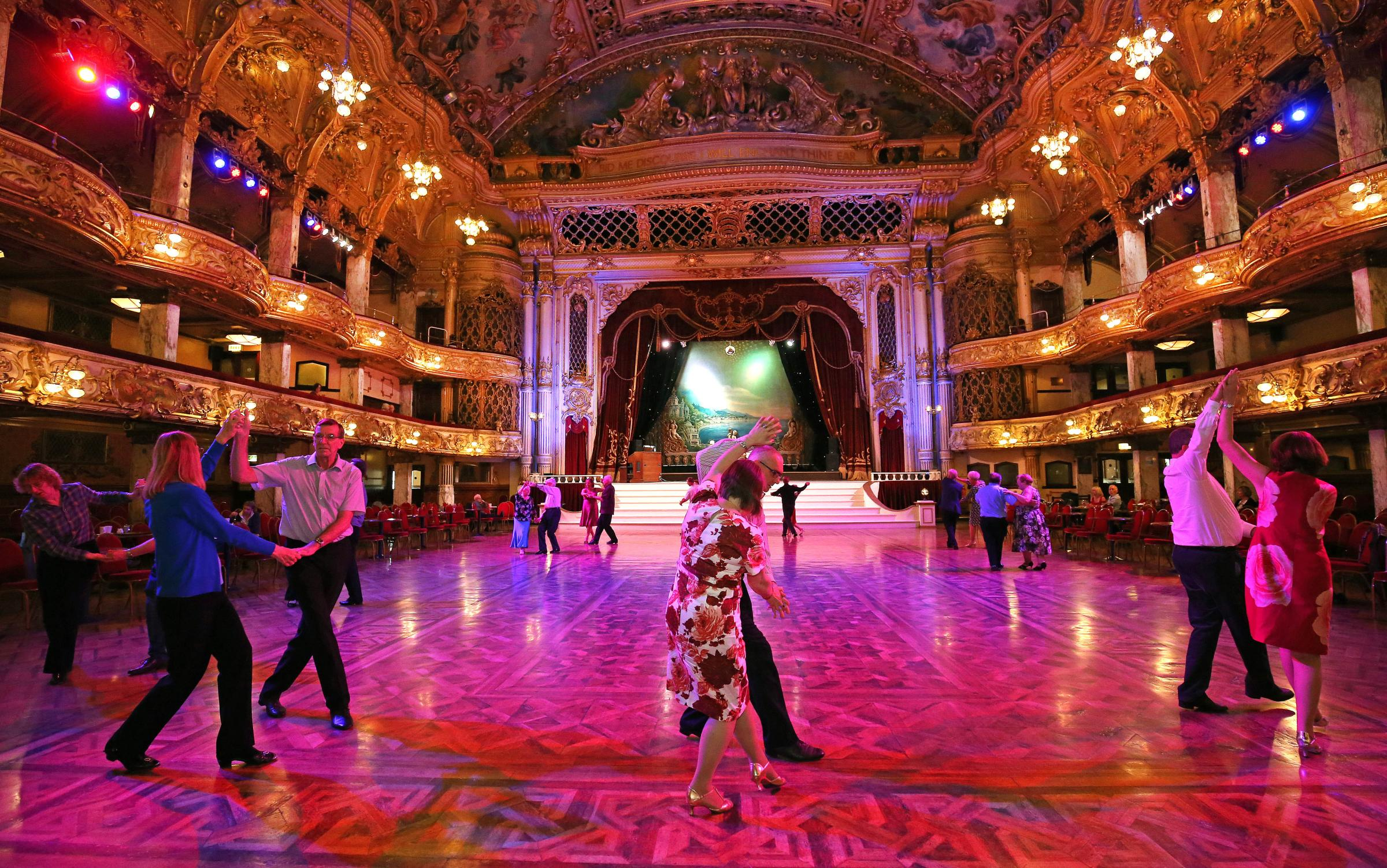 Put on your glad rags and Dance for Victory at The Blackpool Tower