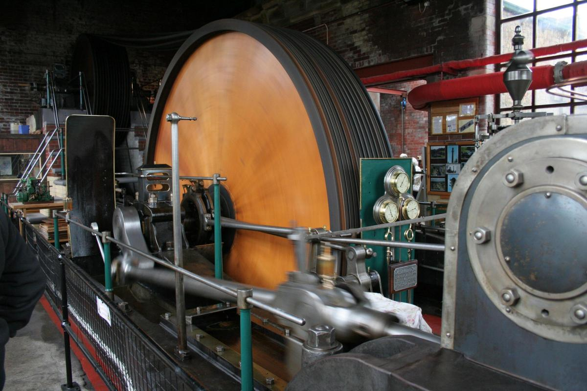 Future of East Lancashire's largest steam engine hangs in