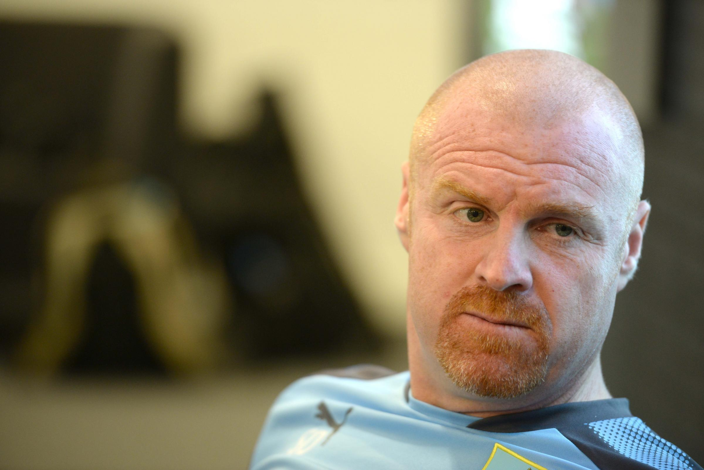 SHUT THE WINDOW: Sean Dyche has backed plans to close the transfer window before the start of the season