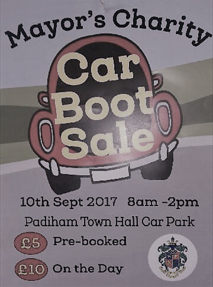 Padiham Charity Car Boot Sale