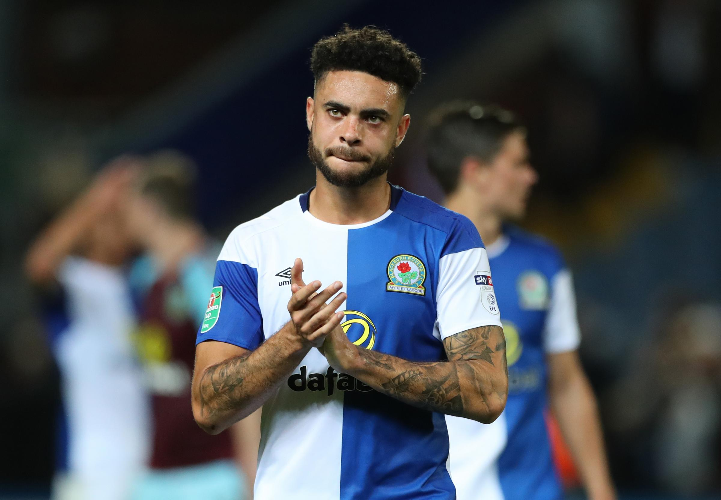 PRESSURE TO PERFORM: Derrick Williams says Rovers must bounce back after Burnley defeat
