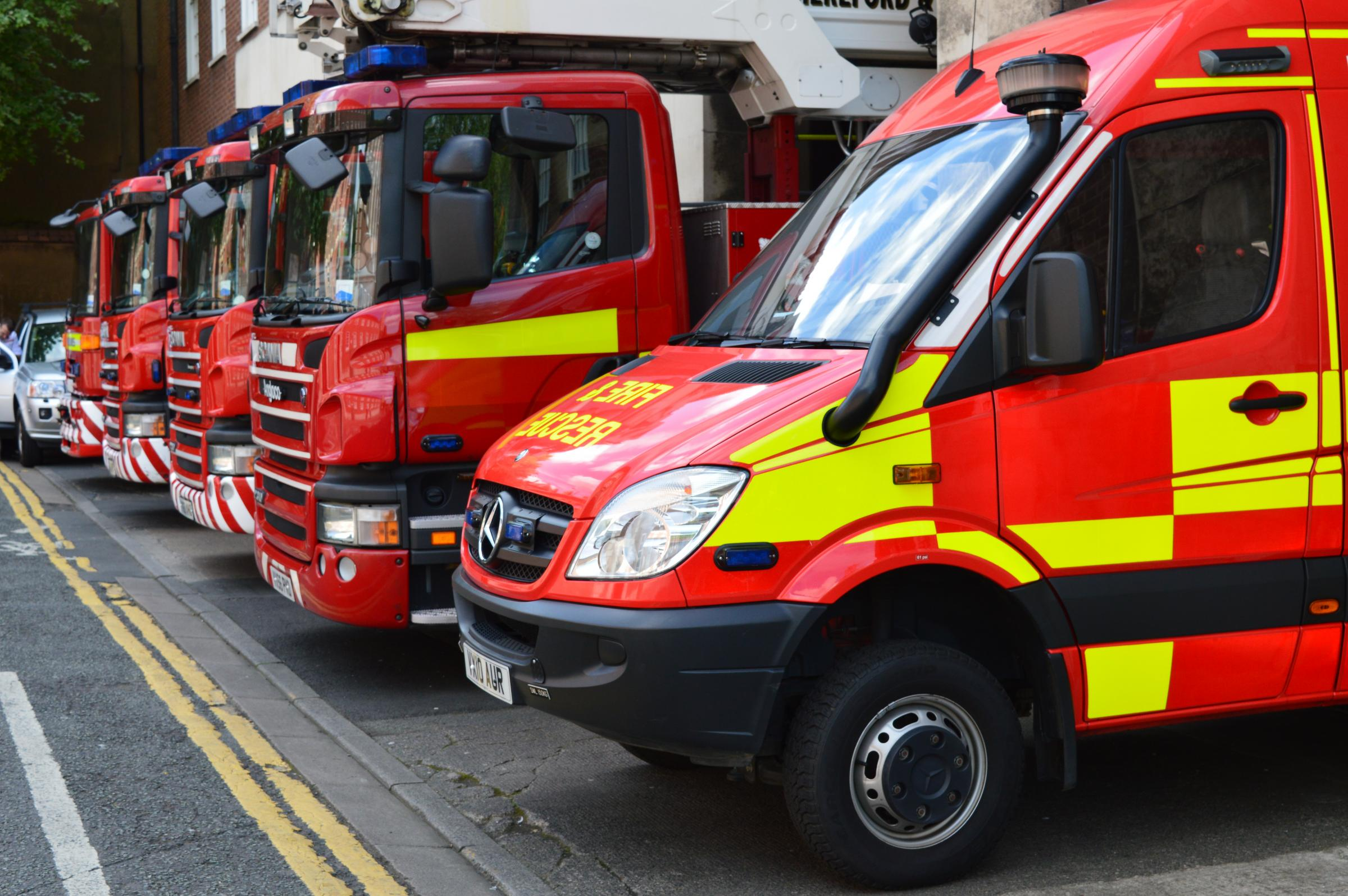 Firefighters called out to Bolton Road car crash