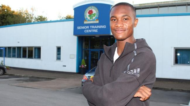 NEW RECRUIT: Rekeem Harper joined Rovers on loan from West Brom on deadline day
