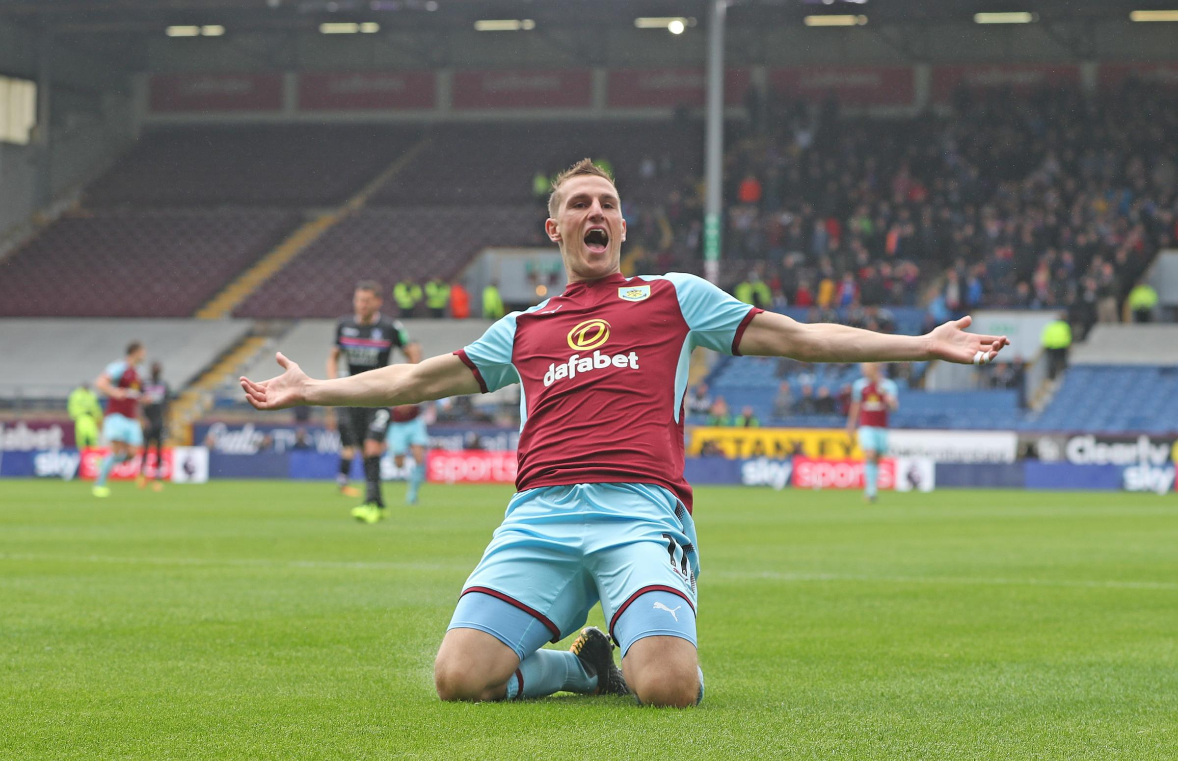 Striker Chris Wood has settled quickly into life at Turf Moor with two goals for the Clarets already since joining from Leeds for a £15m fee last month ahead of the cup tie against his former club tonight