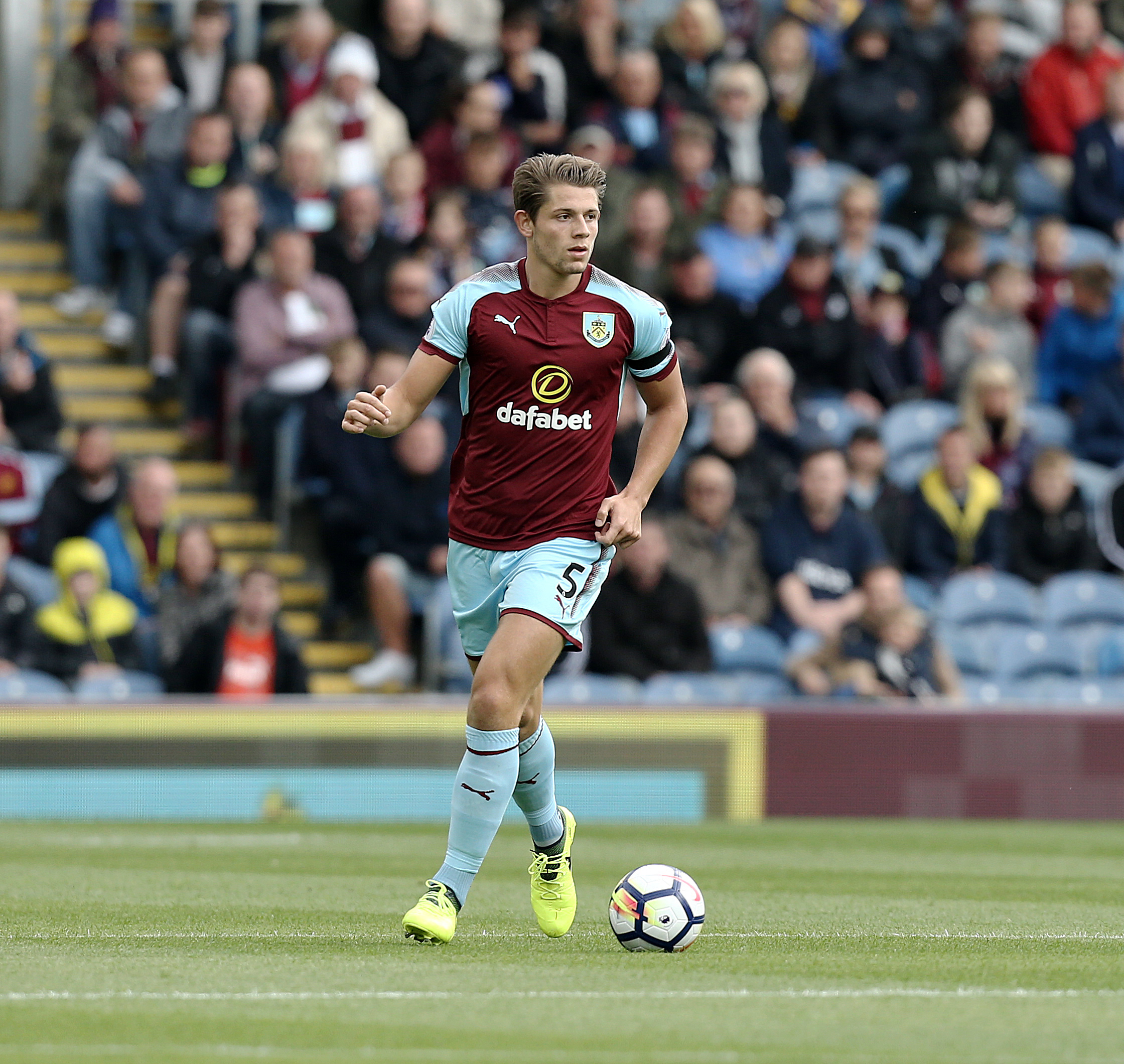 James Tarkowski's defensive nous has been praised by Burnley boss Sean Dyche