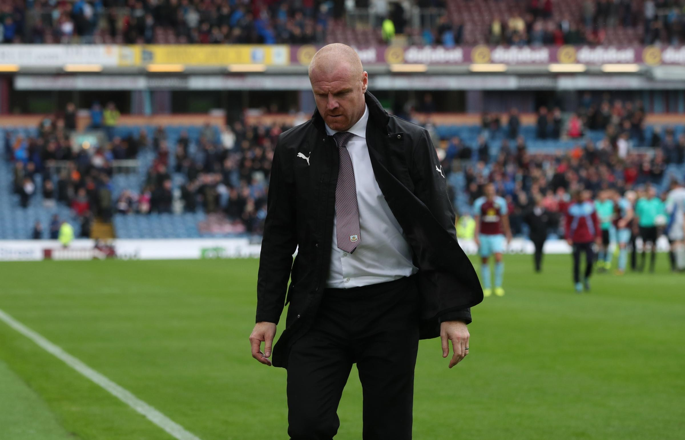 Sean Dyche will look at how Burnley adapted to 4-4-2 after they were below par against Crystal Palace