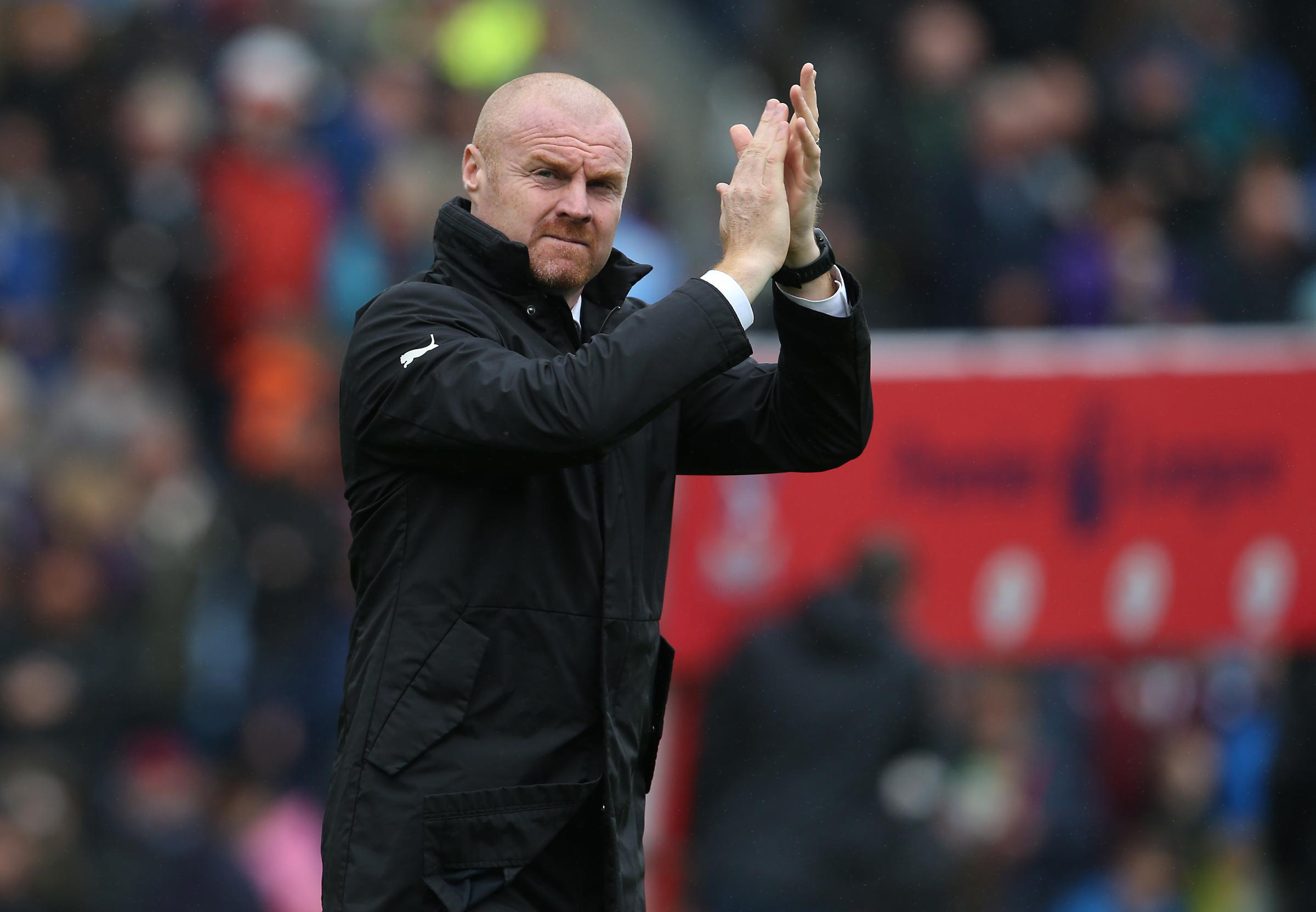 Sean Dyche insists he's isn't concerned about increased expectations at Burnley