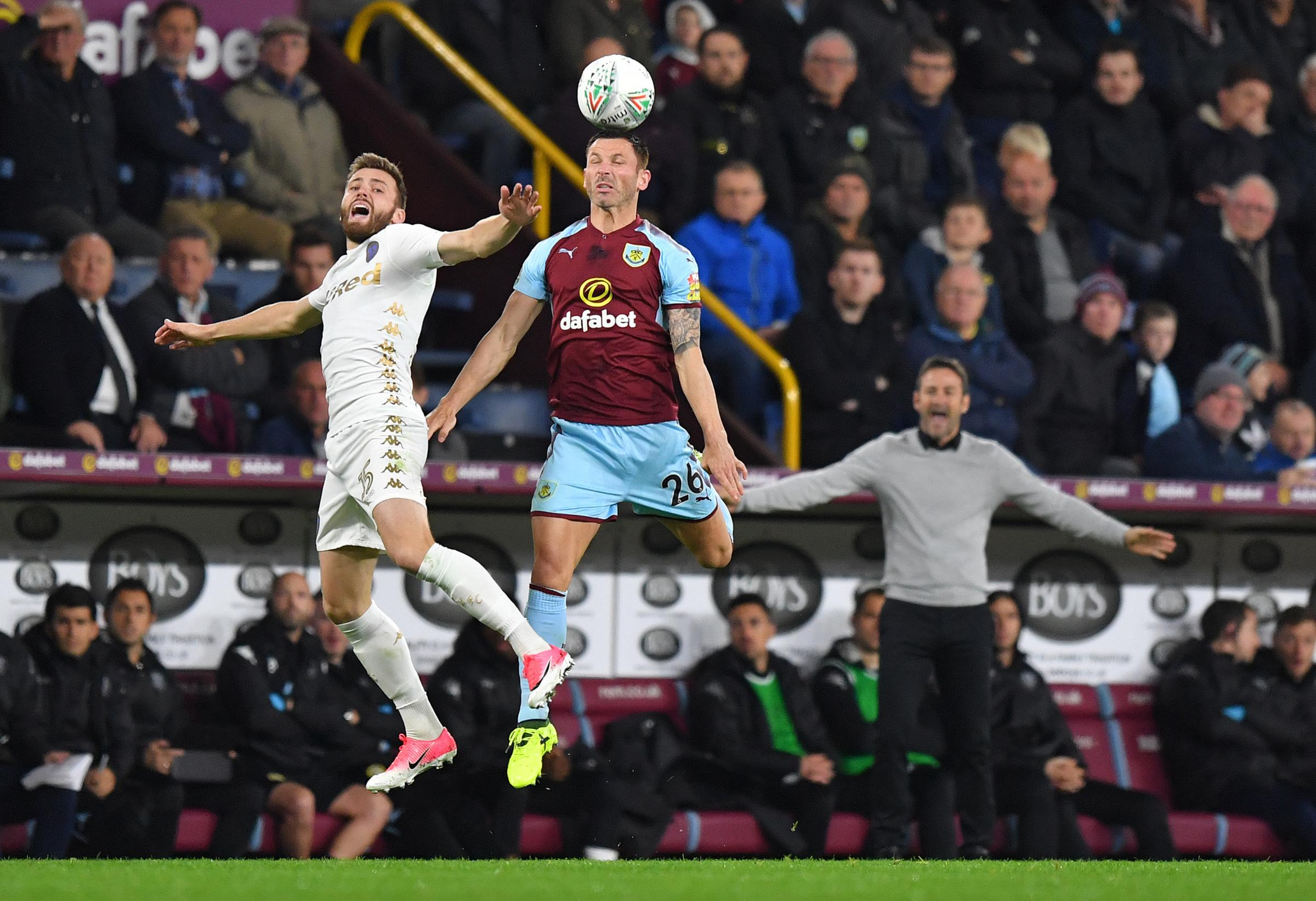 Phil Bardsley is keen to press his claims for a starting place at Burnley under Sean Dyche