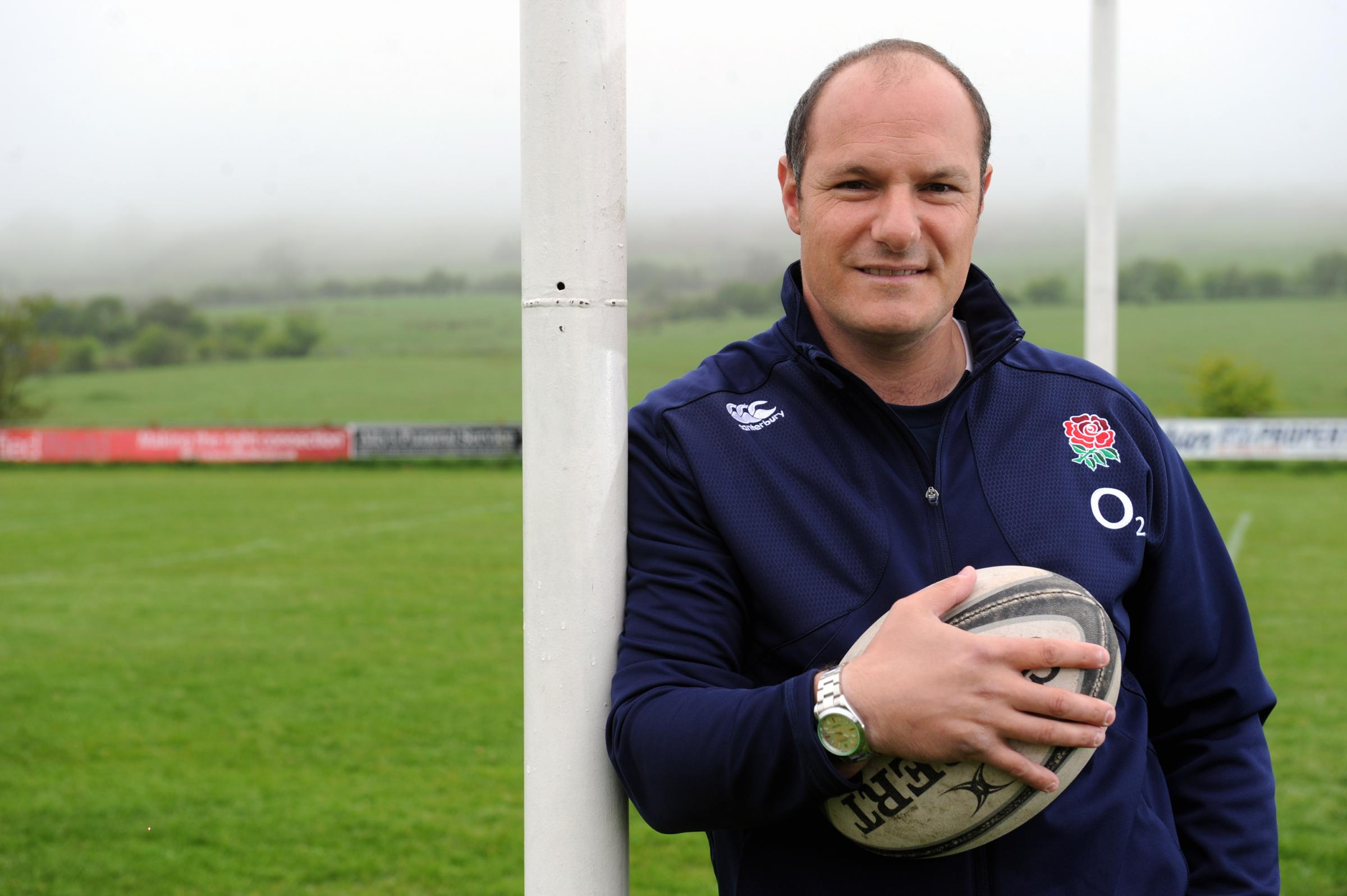 Dino Radice, director of rugby and first team coach at Blackburn RUFC, Ramsgreave Drive, Blackburn. Picture by Paul Heyes, Friday May 22, 2015..