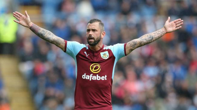 Steven Defour will return for Burnley at Burton on Tuesday night
