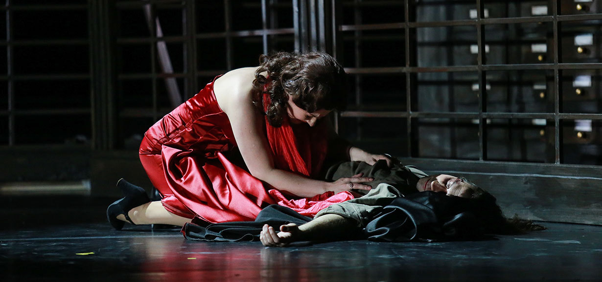 Tosca. Pic courtesy of Russian State Opera