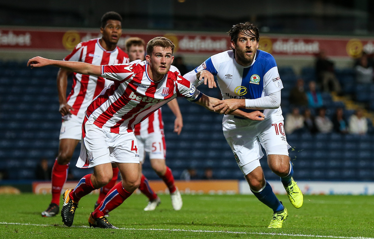 Danny Graham started Rovers' last Checkatrade Trophy outing against Stoke City Under-21s