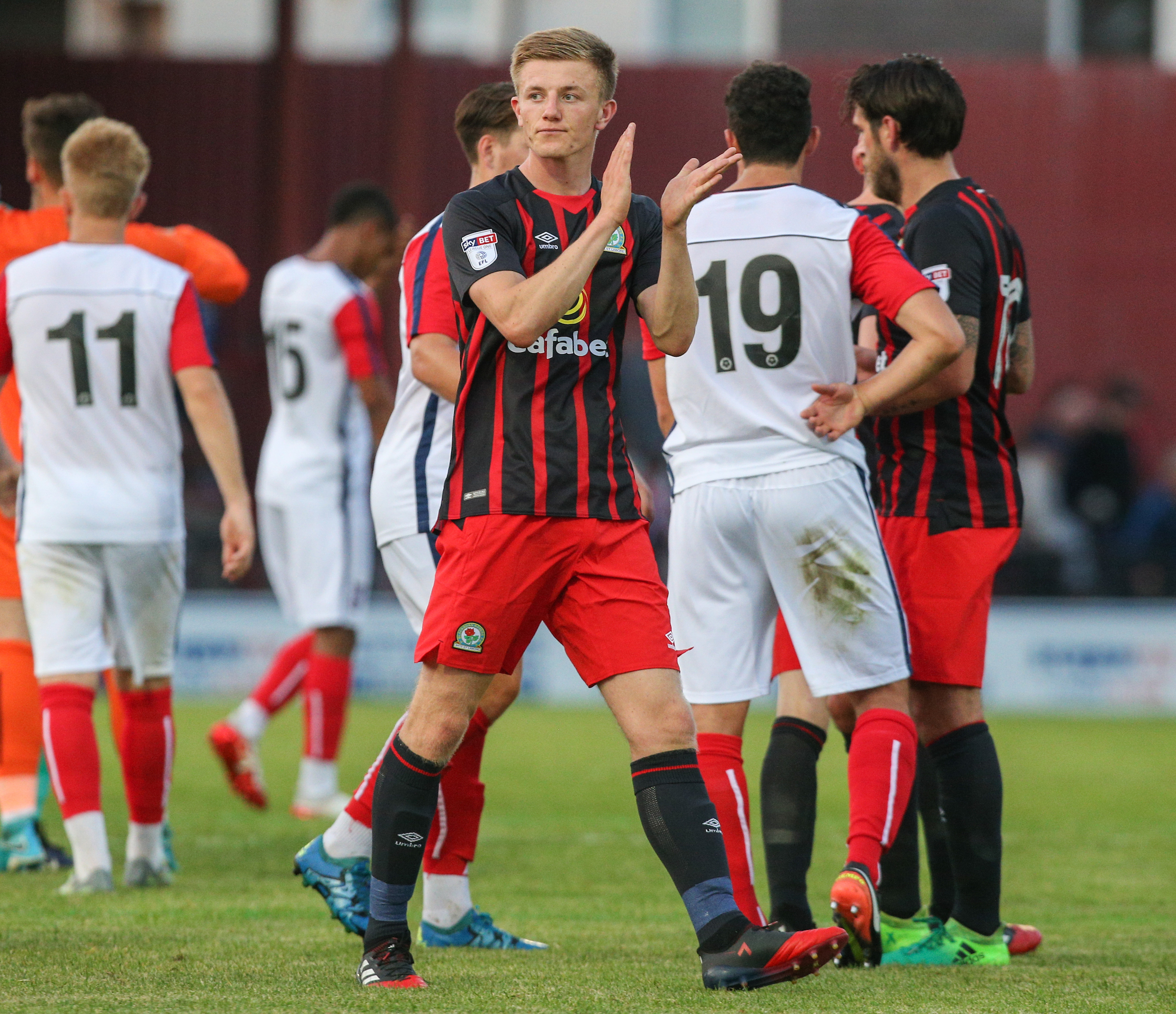 Scott Wharton hasn't featured for Rovers since the pre-season friendly win at York City in July